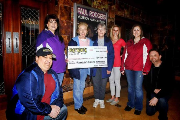 Paul Rodgers Concert Raises $4,436 for PAWS of Grays Harbor