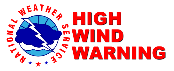 NWS Alert High Wind Warning
