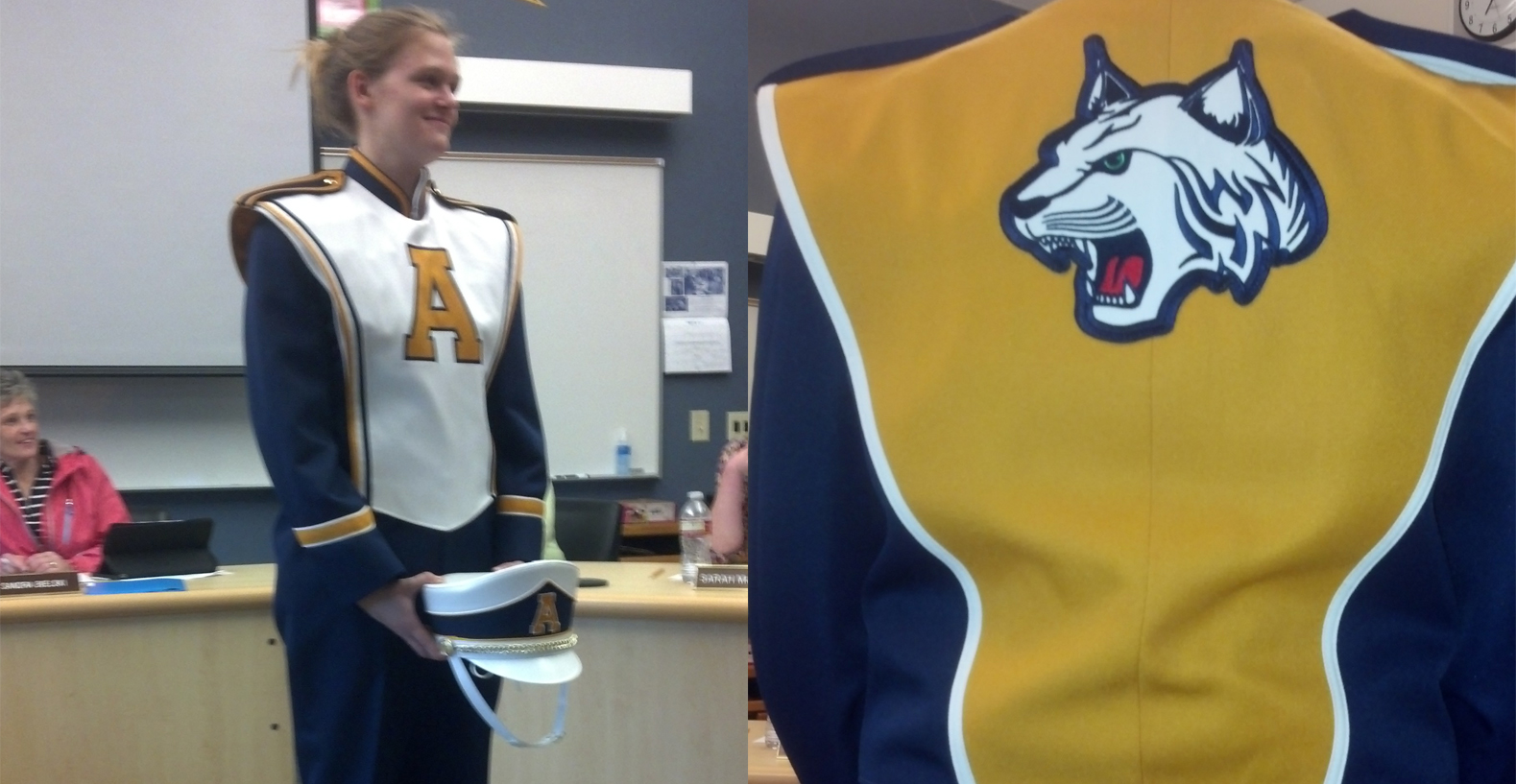 New uniforms unveiled for Aberdeen Marching Band | KXRO News Radio