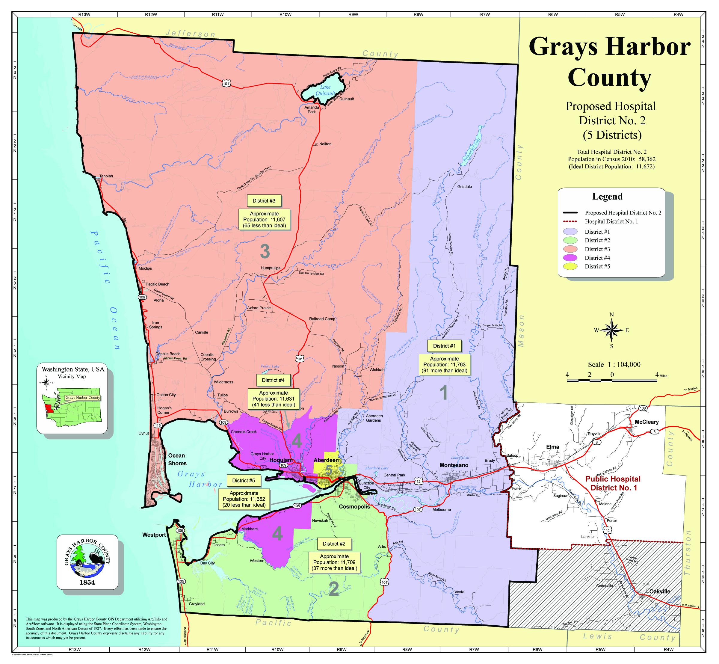 Grays Harbor Public Hospital commissioner filing now open ...